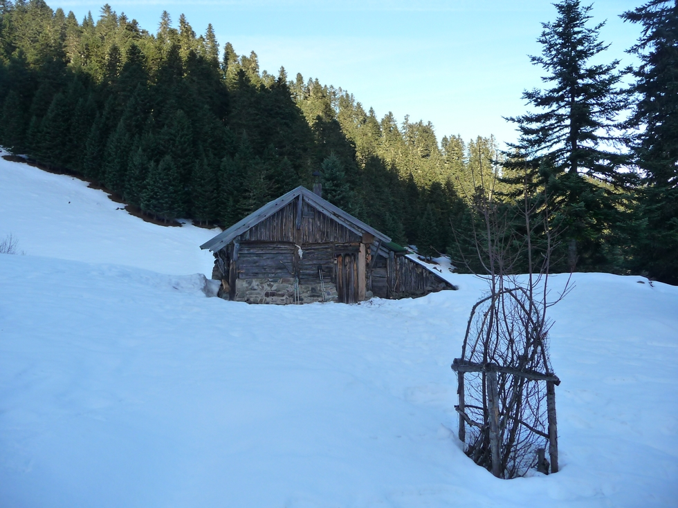 Cabane du Dr Pic. (Photo : Michel Bessone)