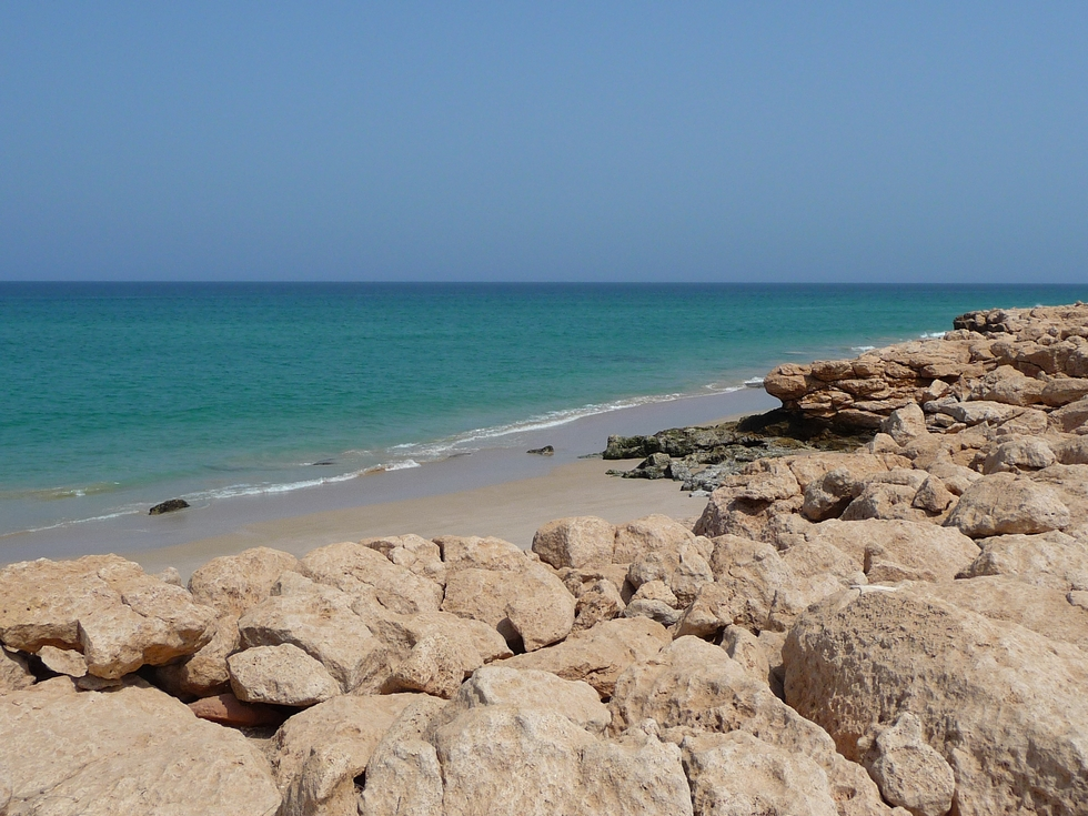 Oman. Côte près de Ras al-Hadd.
