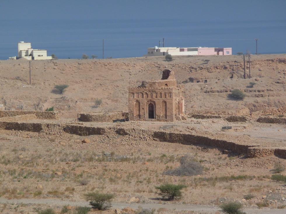 mausolee-bibi miriam-qalhat-decouverte-oman