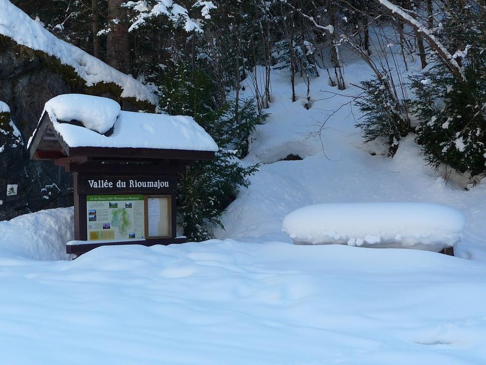 vallee rioumajou-site natura 2000-raquettes