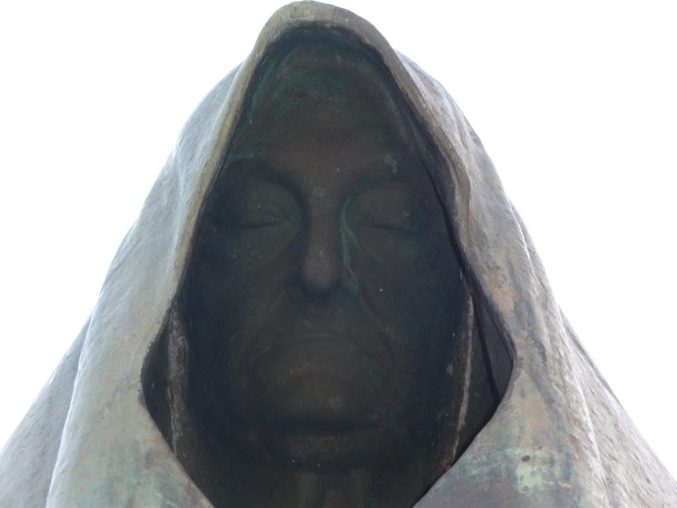visage-statue-campan-grande guerre