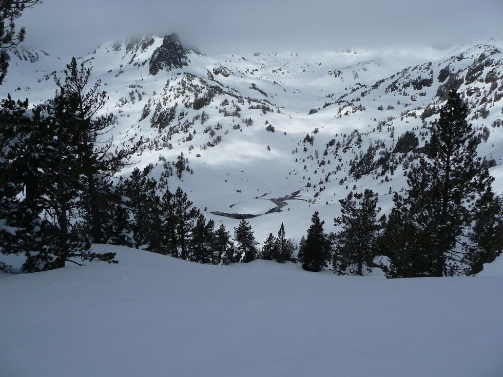 lac vert- vallon de gourguet-bastanet-raquettes-massif du neouvielle-pentecote
