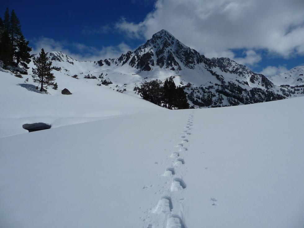 grain de neige exceptionnel-gourguet-raquettes-massif du neouvielle-pentecote