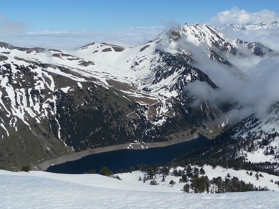 lac de l oule-station de ski de saint-lary-raquettes-monpelat