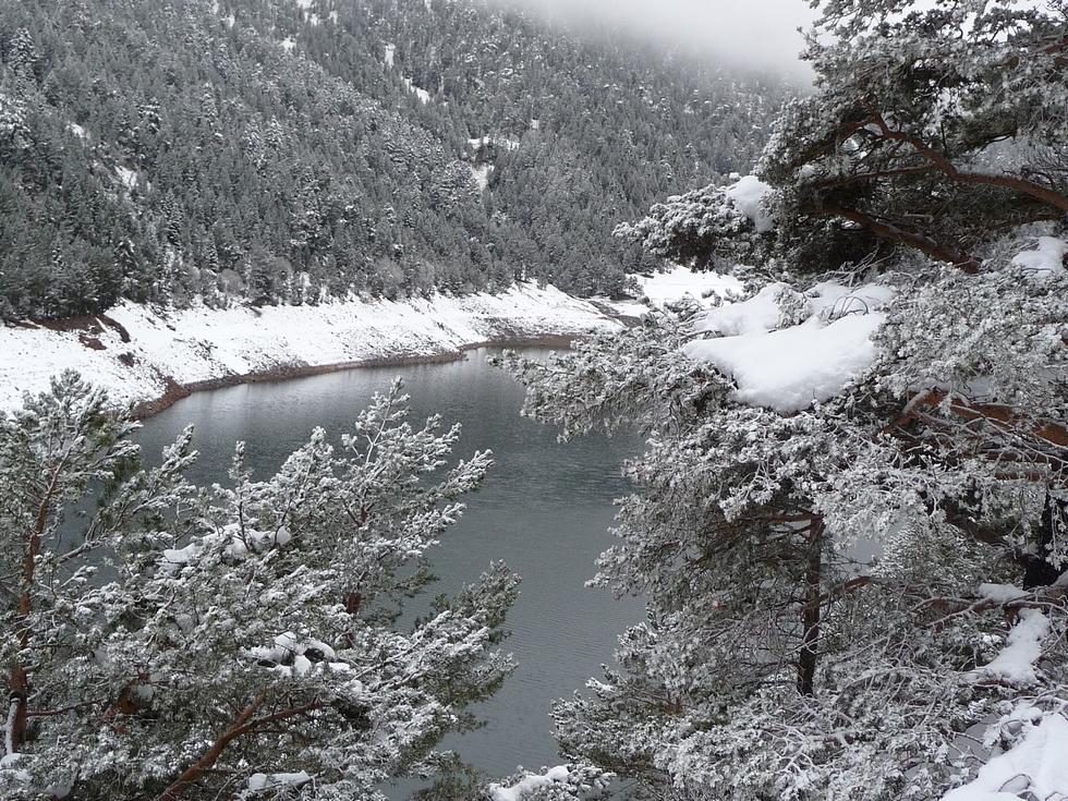 neige-lac-oule-raquettes-massif du neouvielle-pentecote
