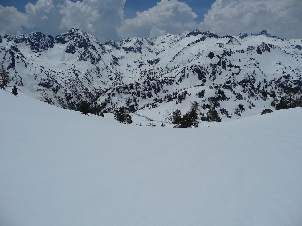 champs de neige-col d aumar-monpelat-vallon d estibere-raquettes
