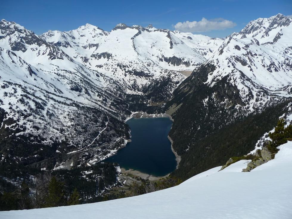 lac d oredon-monpelat-vallon d estibere-raquettes