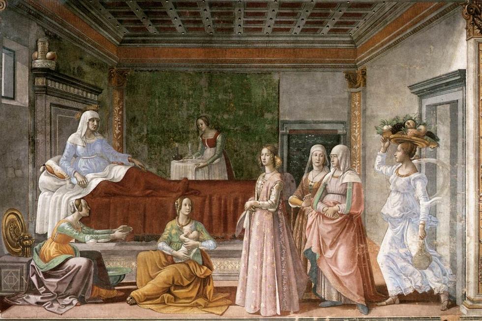 naissance-saint-jean-baptiste-fresque-ghirlandaio