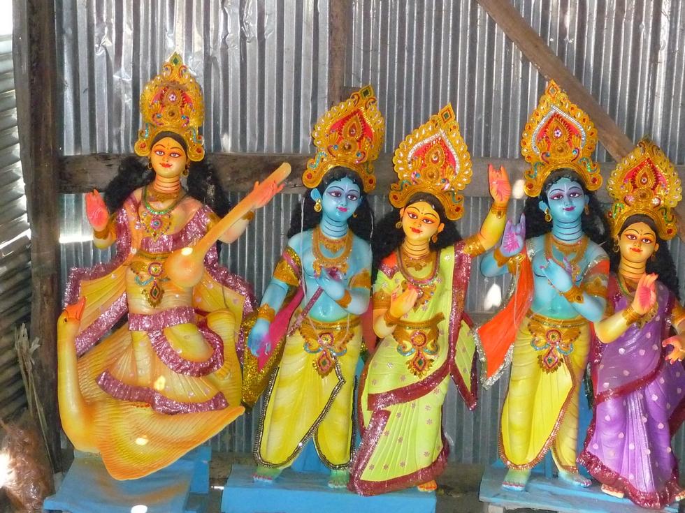 a-gauche-sur-un-cygne-et-jouant-vina-sarasvati-bangladesh-chez-mes-amis-voyage-d-exception