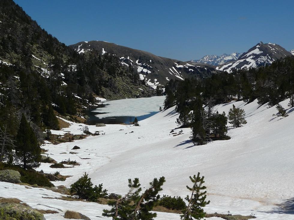 lac-de-ours-dans-vallon-estibere-raquettes