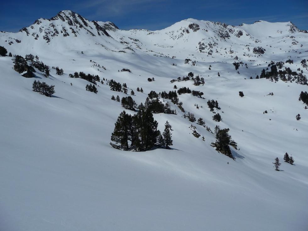 pas-moindre-trace-skis-ou-raquettes- pourquoi-raquette-printemps-vallon-estibere