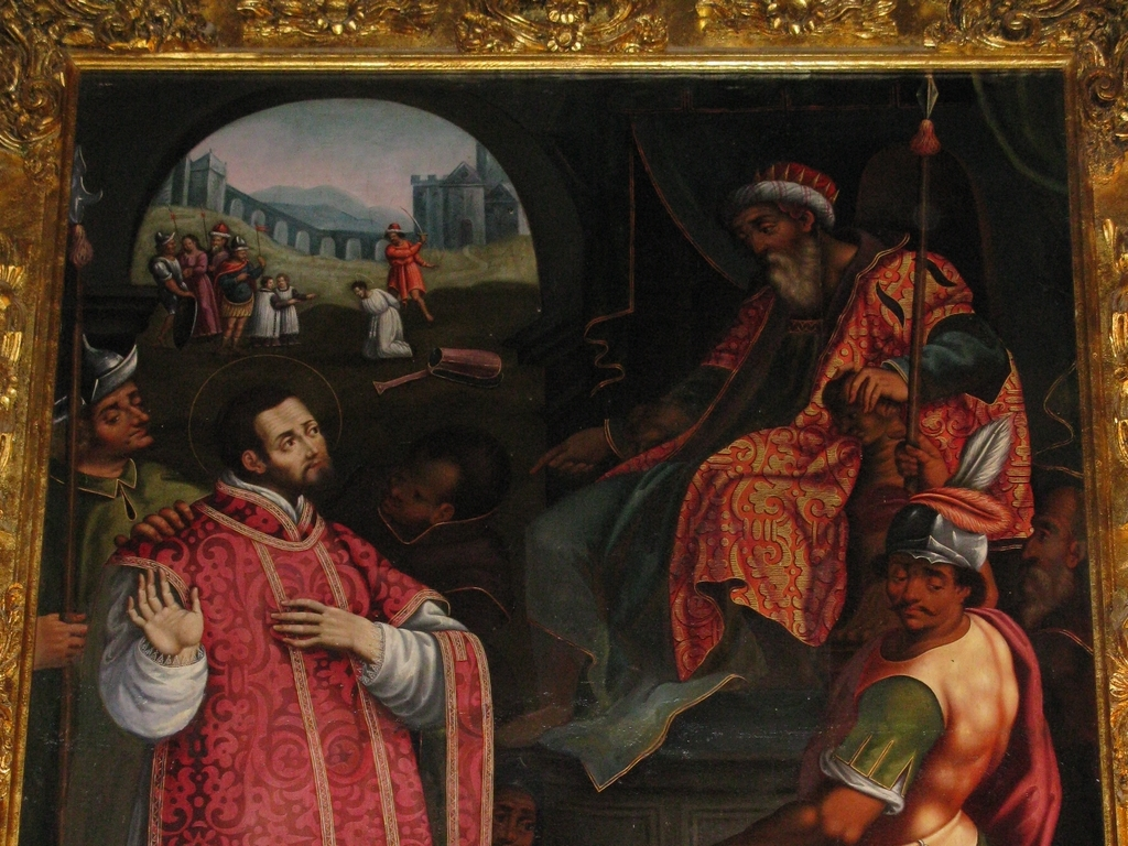 san-visorio-detail-peinture-eglise-san-vicente-labuerda-a-san-vicente-de-labuerda